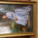 Продам Картину 18 - 19 век. Антиквариат . Холст . Масло.