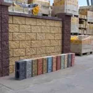 Сплитерные блоки,  тротуарная плитка, брусчатка, бордюры строительные мат