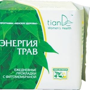 TianDe Ежедневные прокладки «Энергия трав»