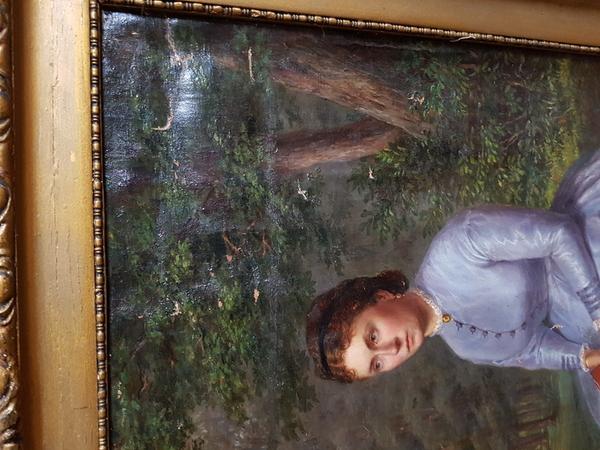 Продам Картину 18 - 19 век. Антиквариат . Холст . Масло. 3